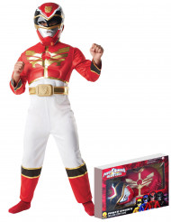 Rode Power Rangers Megaforce™ kostuum voor jongens