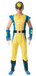 Luxe kostuum van Wolverine™ X-Men voor volwassenen