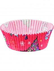 20 cupcake vormpjes Kerstmis
