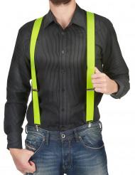 Gele bretels voor volwassen