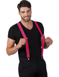 Roze bretels voor volwassen