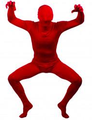 Rood second skin kostuum