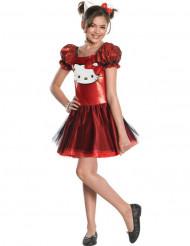 Rood Hello Kitty™ kostuum voor meisjes