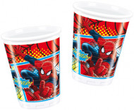 Set van 8 plastic Spiderman™ bekers
