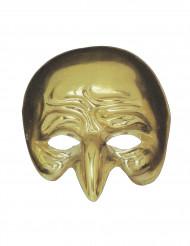 Goudkleurig kromme neus masker