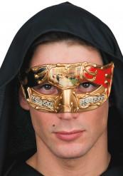 Rood Venatiaanse masker voor volwassen