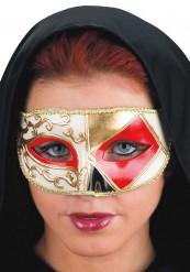 Venetiaans driehoek masker voor volwassenen