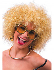 Gouden disco bril volwassenen