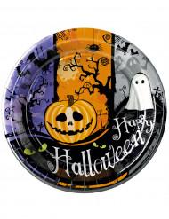 Set van Halloween borden