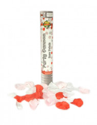 Confetti canon rozeblaadjes