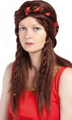 Middeleeuwse pruik voor dames