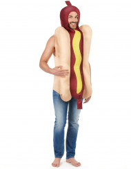Hot dog kostuum voor volwassenen
