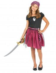 Roze piratenkostuum voor meisjes