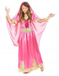 Roze Bollywood prinses kostuum voor meisjes