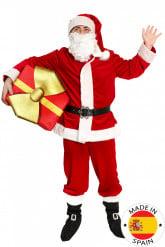 Luxe kerstman outfit voor volwassenen - Premium