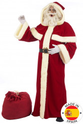 Premium luxe Kerstman pak voor volwassenen