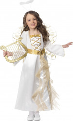 Verkleedkostuum Engel voor meisjes Kerstpak