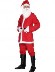 Wit en rood kerstman pak voor heren