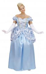 Blauwe prinsessen Assepoester outfit voor vrouwen