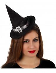 Halloween heksen hoed voor dames