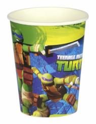 Set van 8 wegwerp bekers van Ninja Turtles™
