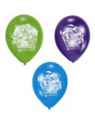 Set van 6 latex ballonnen Ninja Turtles™