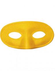Geel halfmasker voor kinderen