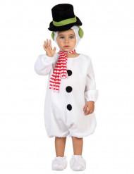 Verkleedkostuum Sneeuwman voor baby