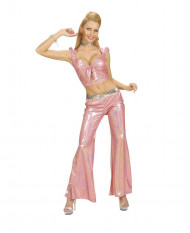 Roze disco topje