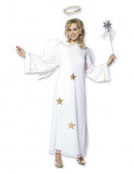 Sterren kerstengel kostuum voor vrouwen