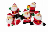 5 taartdecoraties kerstman