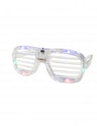 Doorzichtige bril met lichtjes