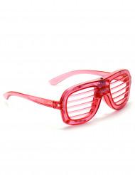Rode bril met lichtjes