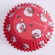 60 kerstman cupcake vormen