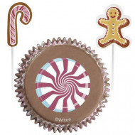 Set cupcake vormen en prikkers