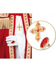 Ring en halsketting van Sinterklaas