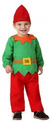 Verkleedkostuum kleine dwerg voor baby's Kerst