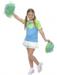 Pastelkleurige cheerleader outfit voor meisjes