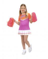 Cheerleader pak voor meisjes violet