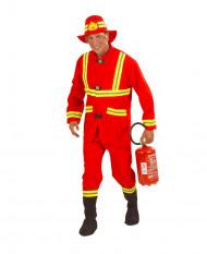 Brandweerman kostuum voor heren