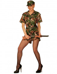 Militaire outfit voor dames