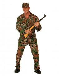 Militair kostuum voor mannen