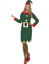 Elfen kostuum voor dames Kerst