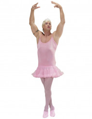 Roze ballerina danseres kostuum voor mannen