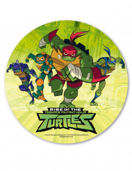 Eetbare Ninja Turtles™ schijf