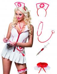 Verpleegster accessoires set voor volwassenen
