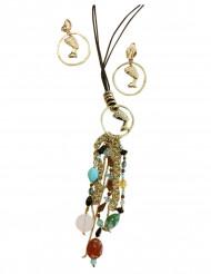 Juwelen set Egyptische koningin voor vrouwen