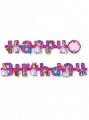 Personaliseerbare Prinses Sofia™ Happy Birthday slinger
