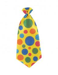 Clown stropdas voor volwassenen