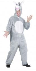 Grijze ezel kostuum voor volwassenen
